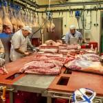 Fleischverarbeitungsbetrieb für Broschüre