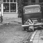 Sedcard | Street mit Jenny im Style der 60er