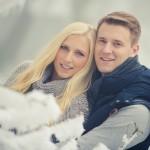 Pärchen-Shooting im Schnee