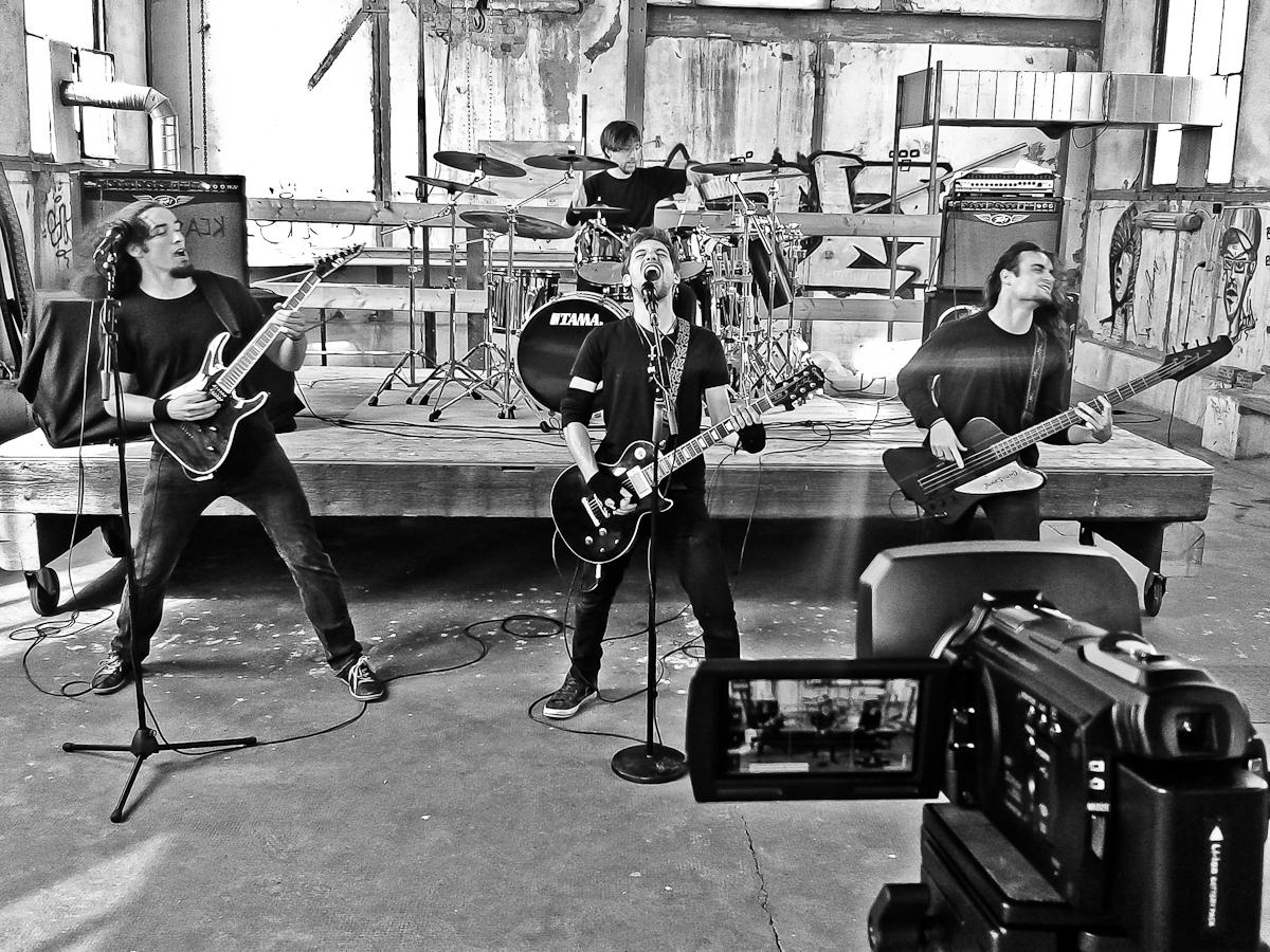 Musikvideo-Produktion mit Junksound…