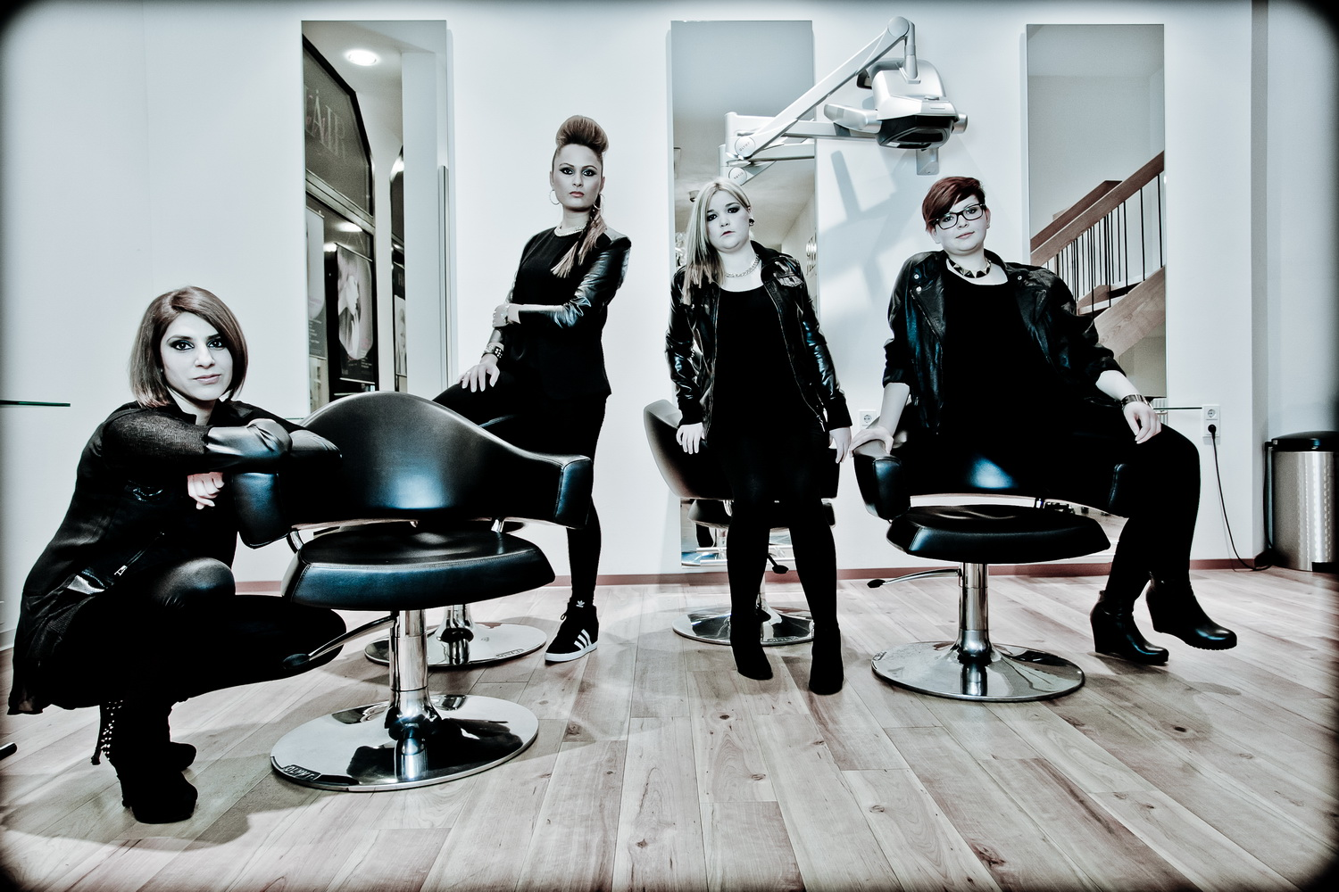 Hair Studio Business Shooting